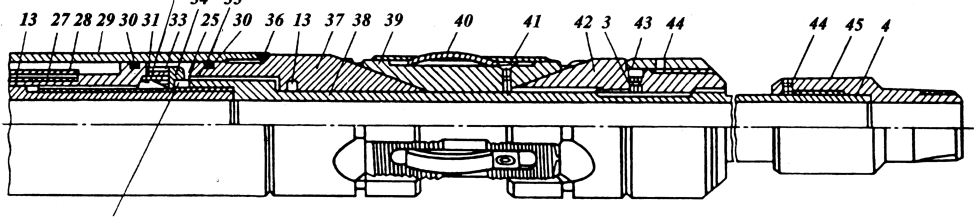 Процесс внедрения и эксплуатации упорных пакеров на добывающих скважинах