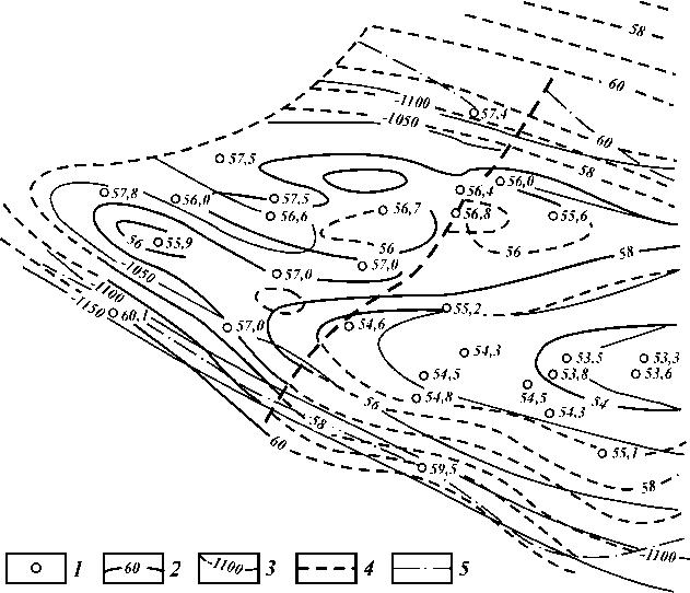 XIII месторождения Узень