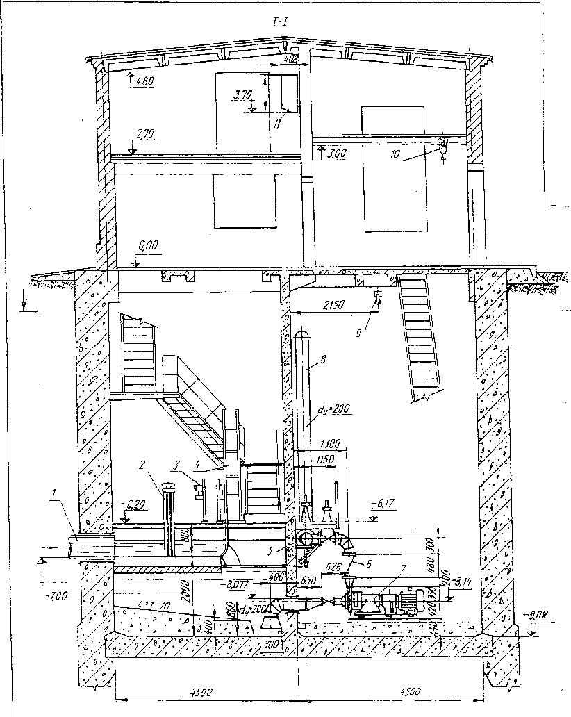 схема импульсного блока питания насосной станции